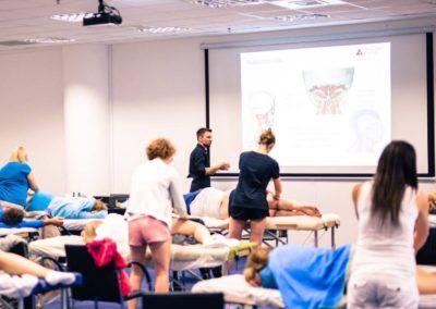 zajęcia szkoleniowe dla fizjoterapeutów
